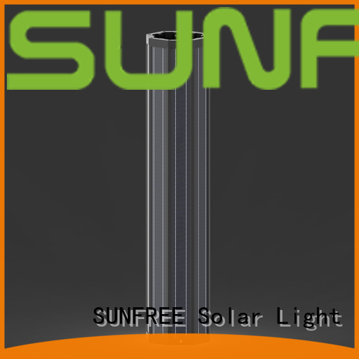 high quality outdoor solar light pole manufacturer for highways