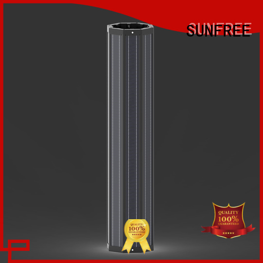 reliable outdoor solar light pole wholesale for parking lot