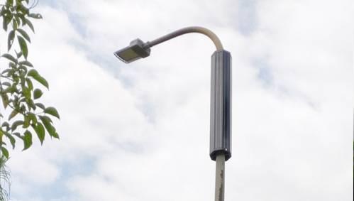 Municipal power to transform solar street lamps